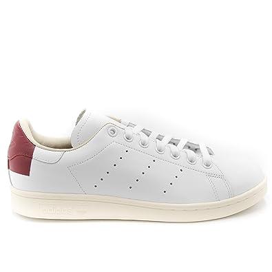 Adidas Stan Smith EE5784 Cloud White Burgundy (US 9.5