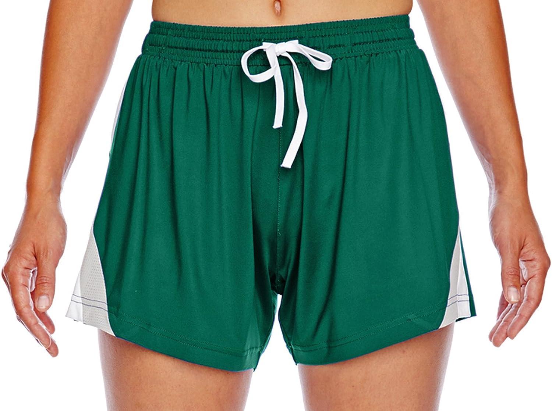 Team 365 Womens All Sport Shorts Tt40w 28W X 4.5L Sport Forest