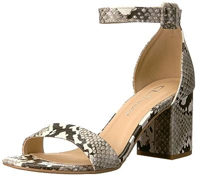 e84d6f43e5e CL by Chinese Laundry Women s Jody Heeled Sandal Off White Snake 7 M US