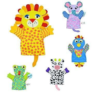 Amazemarket Infantil Bebé Niños Temprano Educativo Gracioso Toalla Saliva Marioneta Accesorios Historia Mano Padre Interactivo Juguete