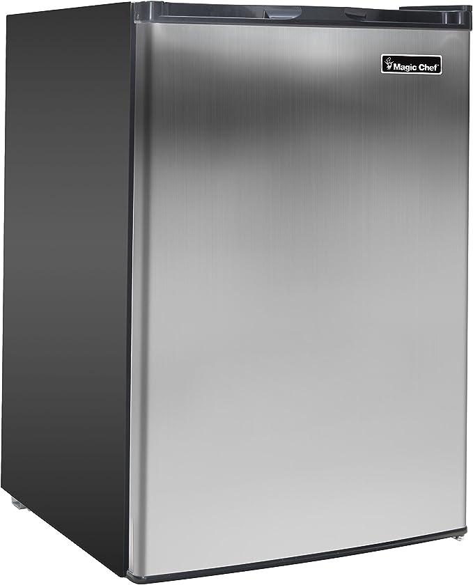 Magic Chef MCUF3S2 - Congelador (Vertical, 85 L, Negro, Acero ...