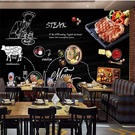 Sucsaistat Mural de Papel Tapiz 3D Pintado a Mano Pizarra ...