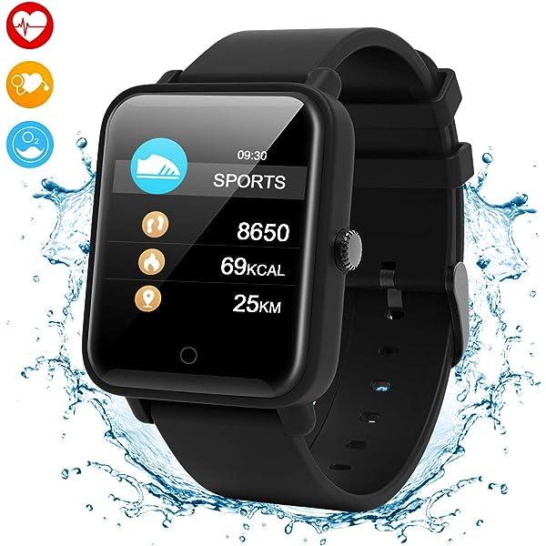 Smartwatch Inteligente,IP67 Impermeable Reloj Deportivo ...