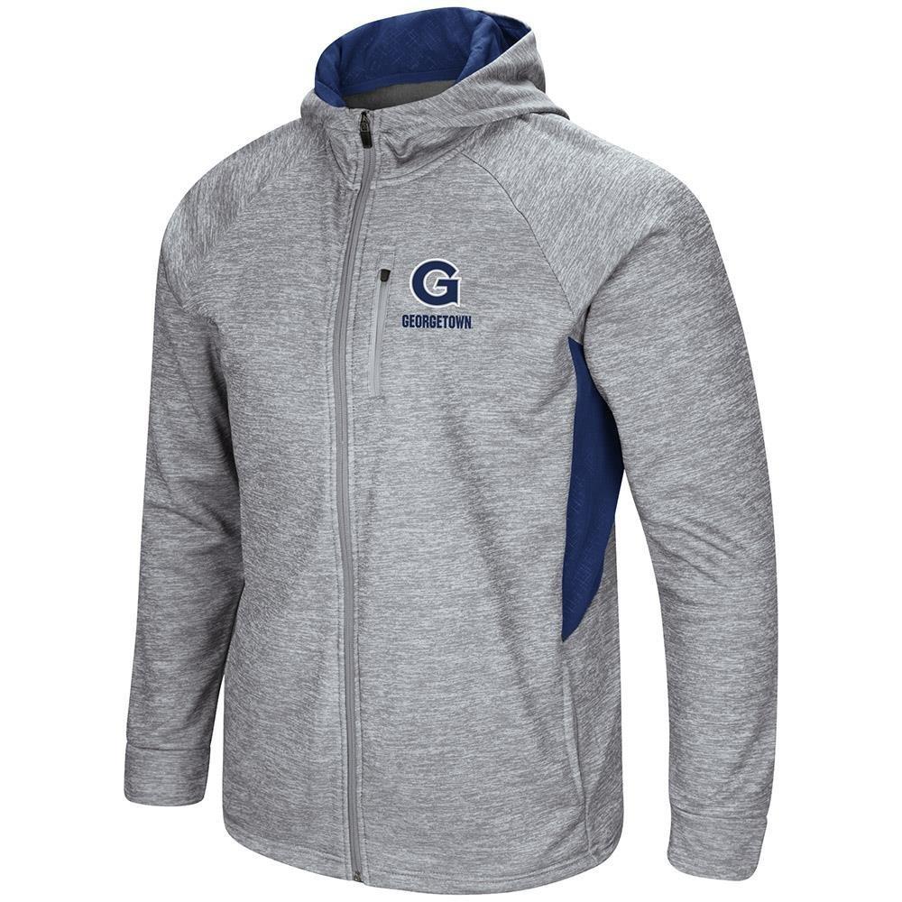 Colosseum Mens Georgetown Hoyas Full Zip Jacket