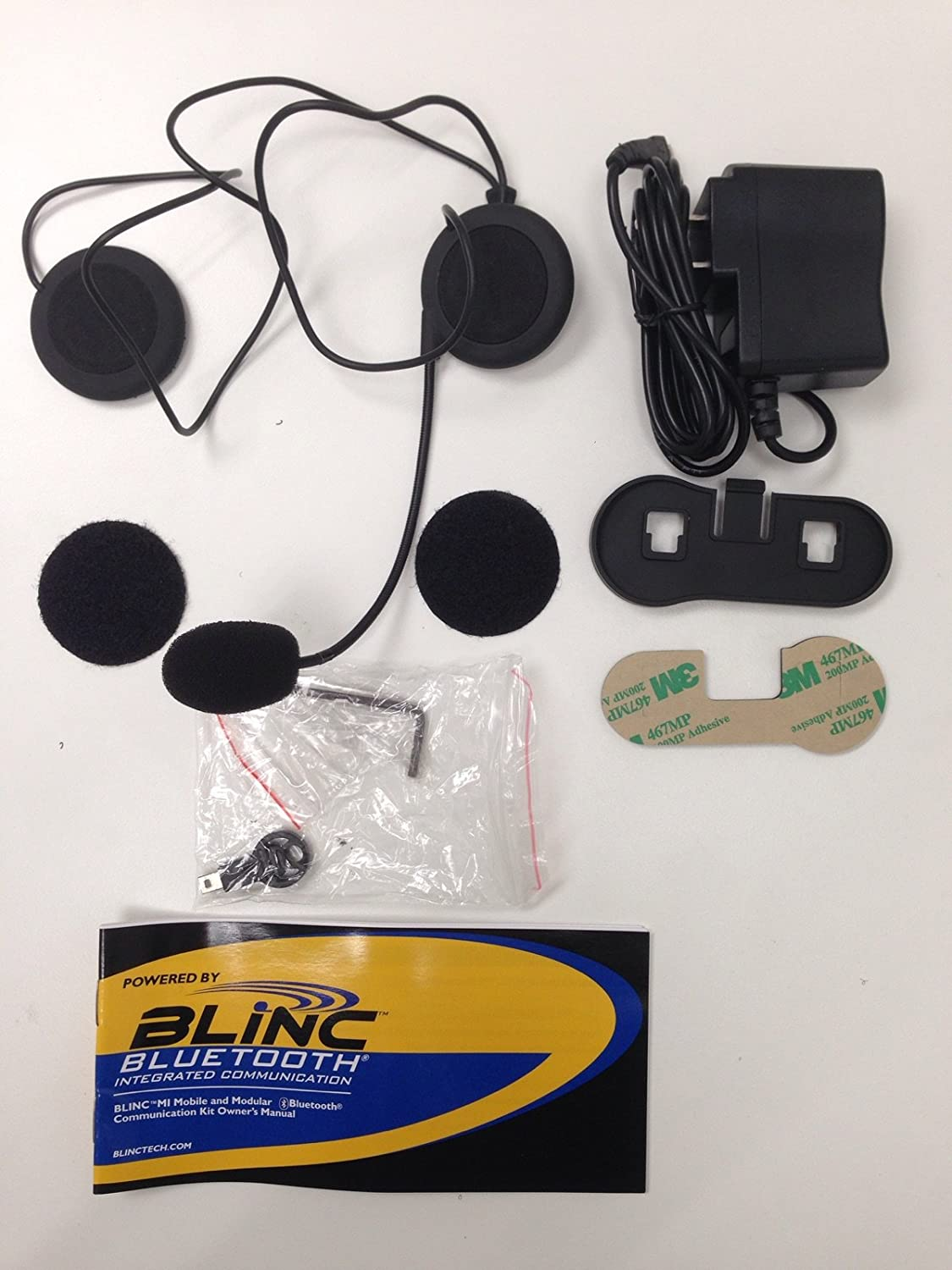 Blinc M1 Bluetooth 2.0 Integrated Communication Module Add On for All Helmets