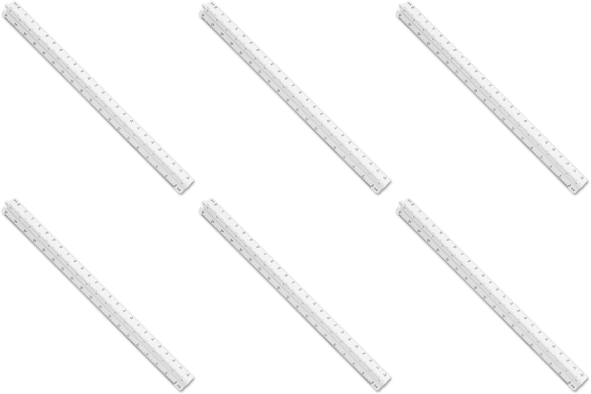 Staedtler(R) Architects Printed Scale, 6 Packs