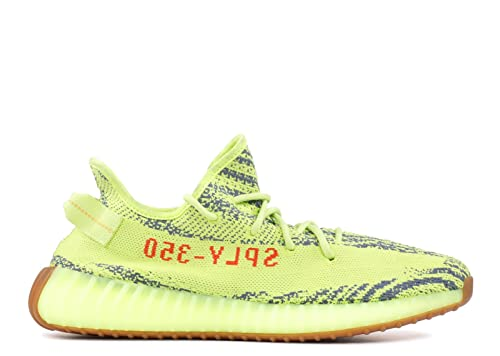 ad9be8179b15a Yeezy Boost 350 V2 Men's Fluorescent green B37572 (9): Amazon.ca ...