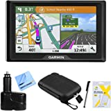 Garmin Drive 51 LM GPS Navigator (010-01678-0B) USA with Driver Alerts w/Accessories Bundle Includes, Dual 12V Car Charger fo