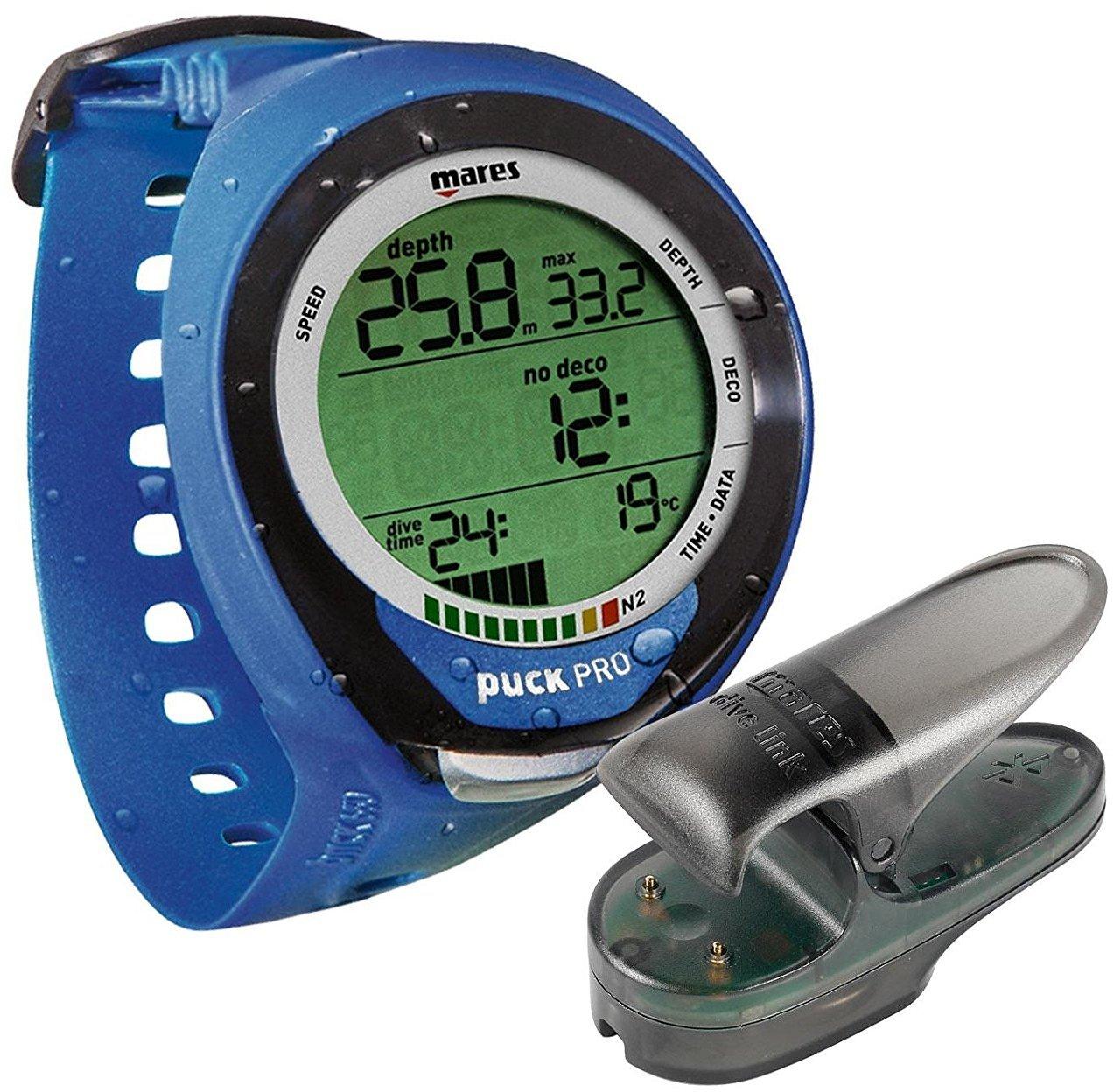 Mares Puck Pro Plus Blue Dive Computer with Bluelink Pro