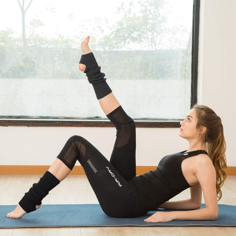 LONGWEIZ Women Girls Ballet Dance Socks for 80s Party Dance Sports Yoga Women Leg Warmer Boots Socks
