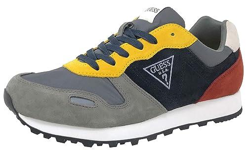 Guess FMCHA4 SUE12, Zapatillas Deportivas, Hombre: Amazon.es: Zapatos y complementos