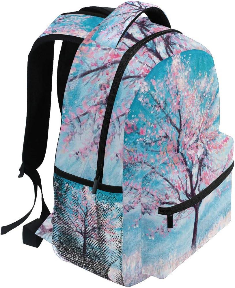 Tree Backpacks Travel Laptop Daypack School Bags for Teens Men Women