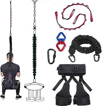 DASKING Nuevo tipo de cuerdas elásticas de resistencia para el gimnasio en casa, yoga, obstáculos, gravedad, deportes profesionales, ideal para el ...