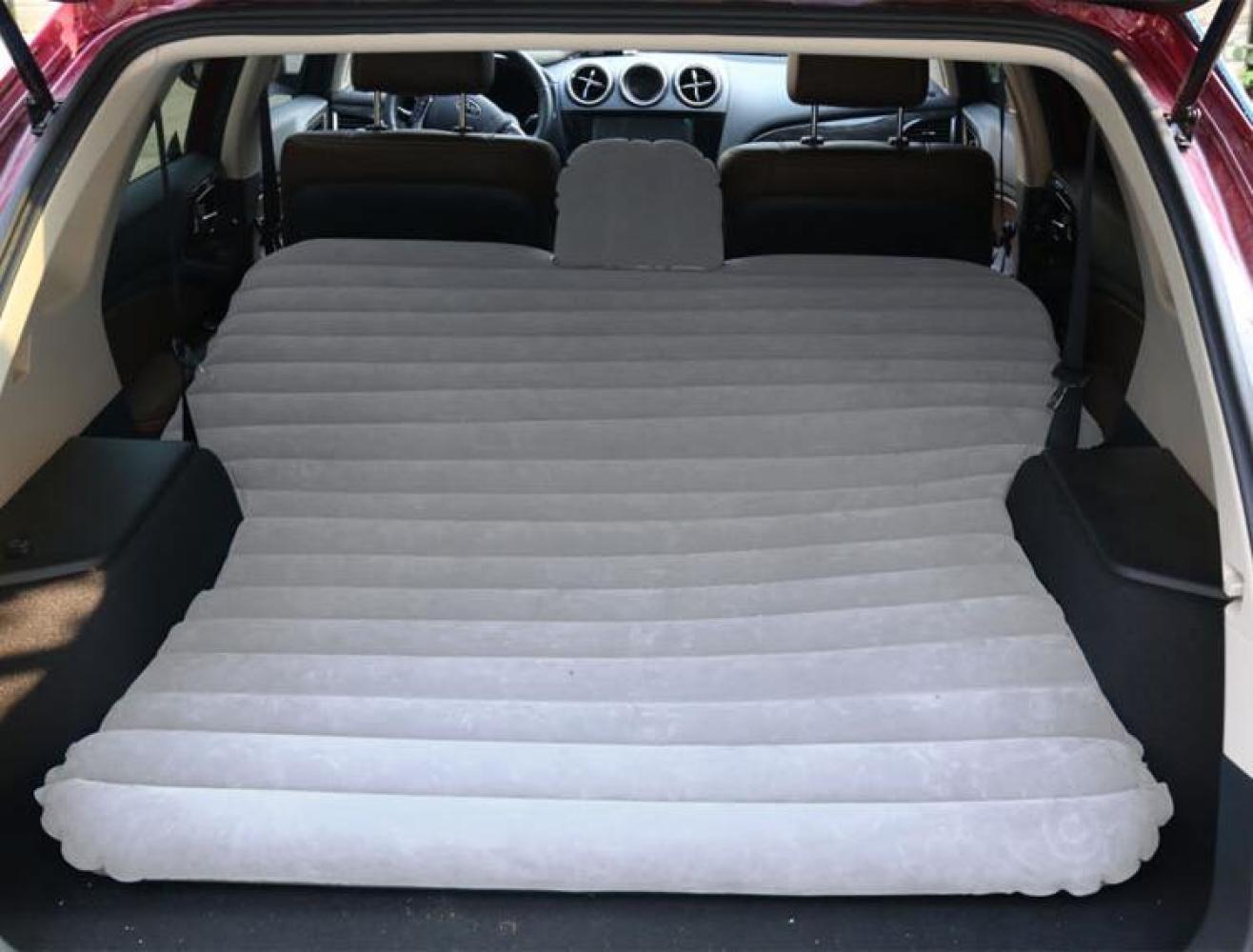 ERHANG Luftmatratzen Auto-Bett SUV-Hintersitz-Schlafenmatte-aufblasbares Bett Das Reise-Bett Im Freien Faltet,grau