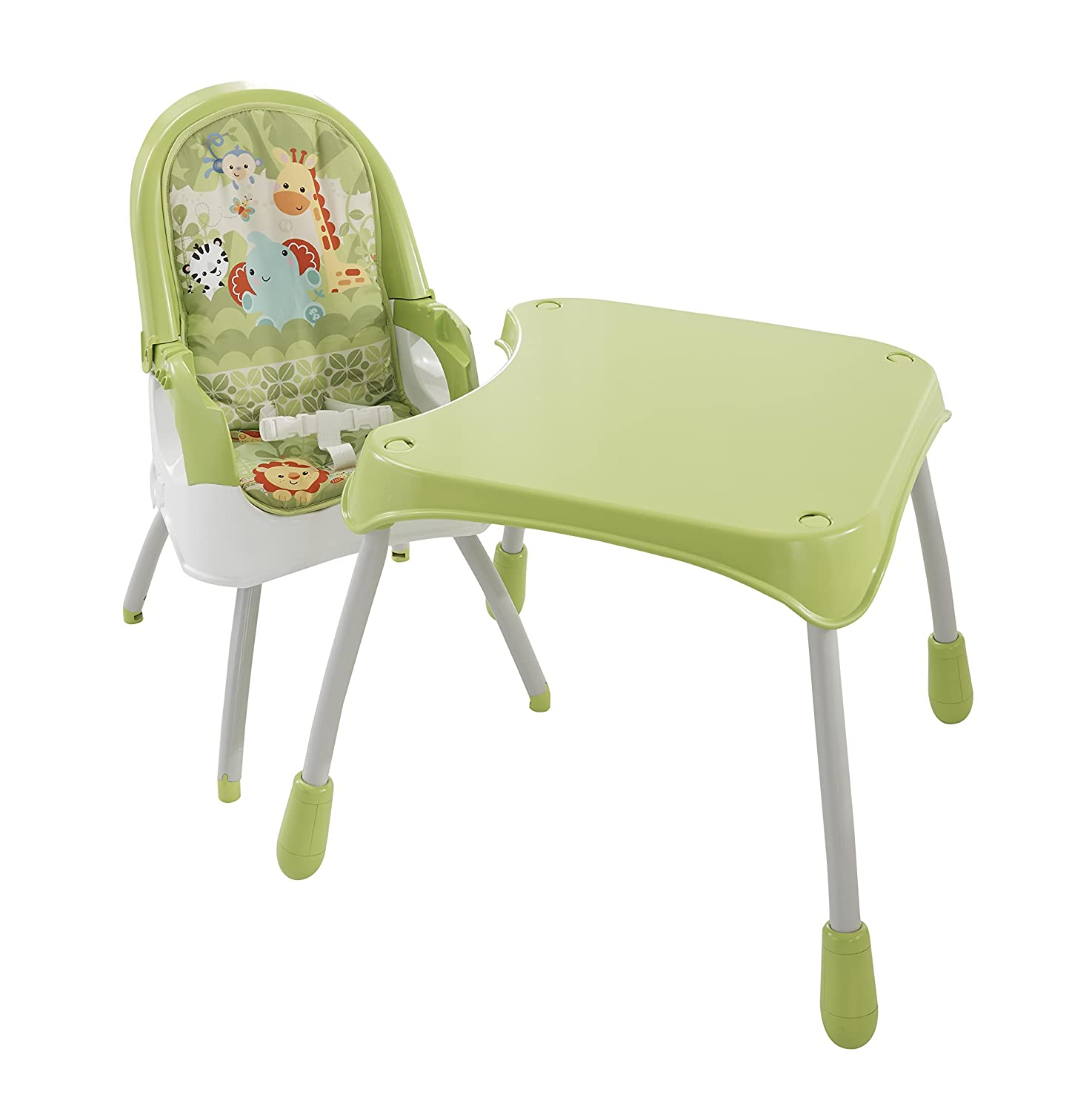 Buy Fisher Price 4 In 1 High Chair Green line at Low Prices in