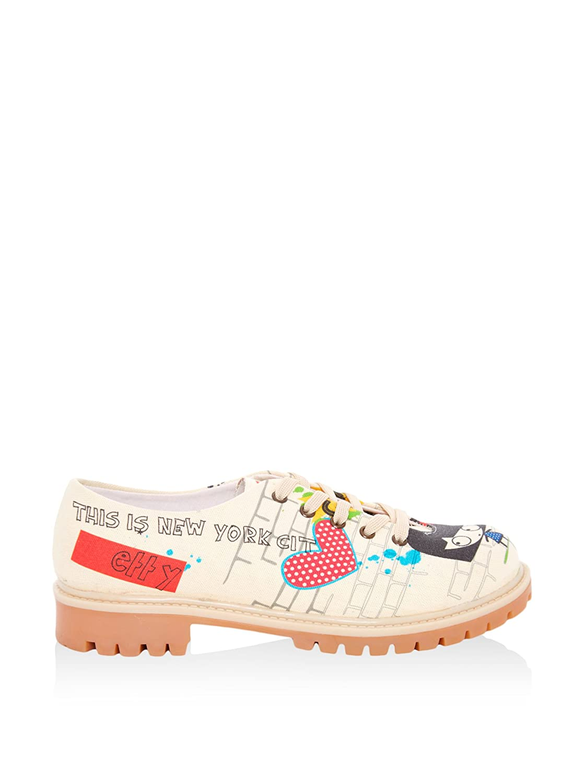 Goby Tmk5502 - Zapatos Mujer 39 EU|Crema