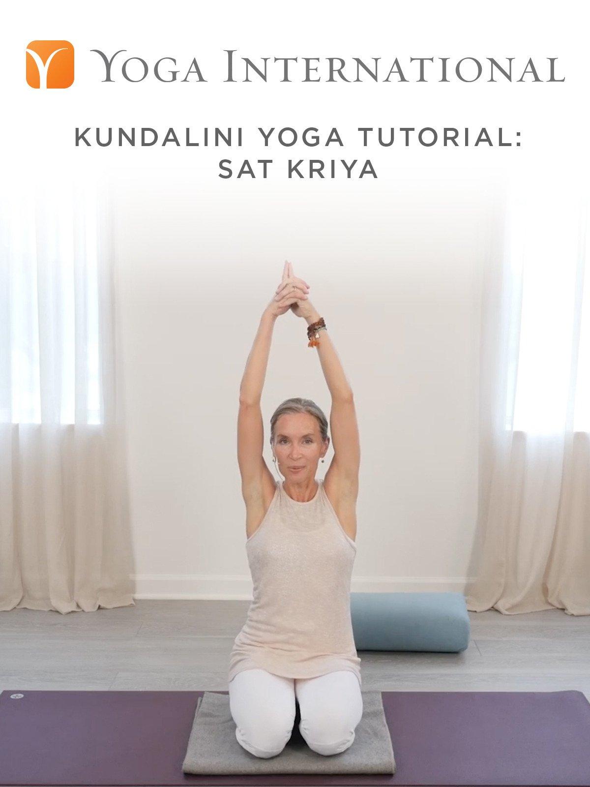 Amazon com: Watch Kundalini Yoga Tutorial: Sat Kriya | Prime Video