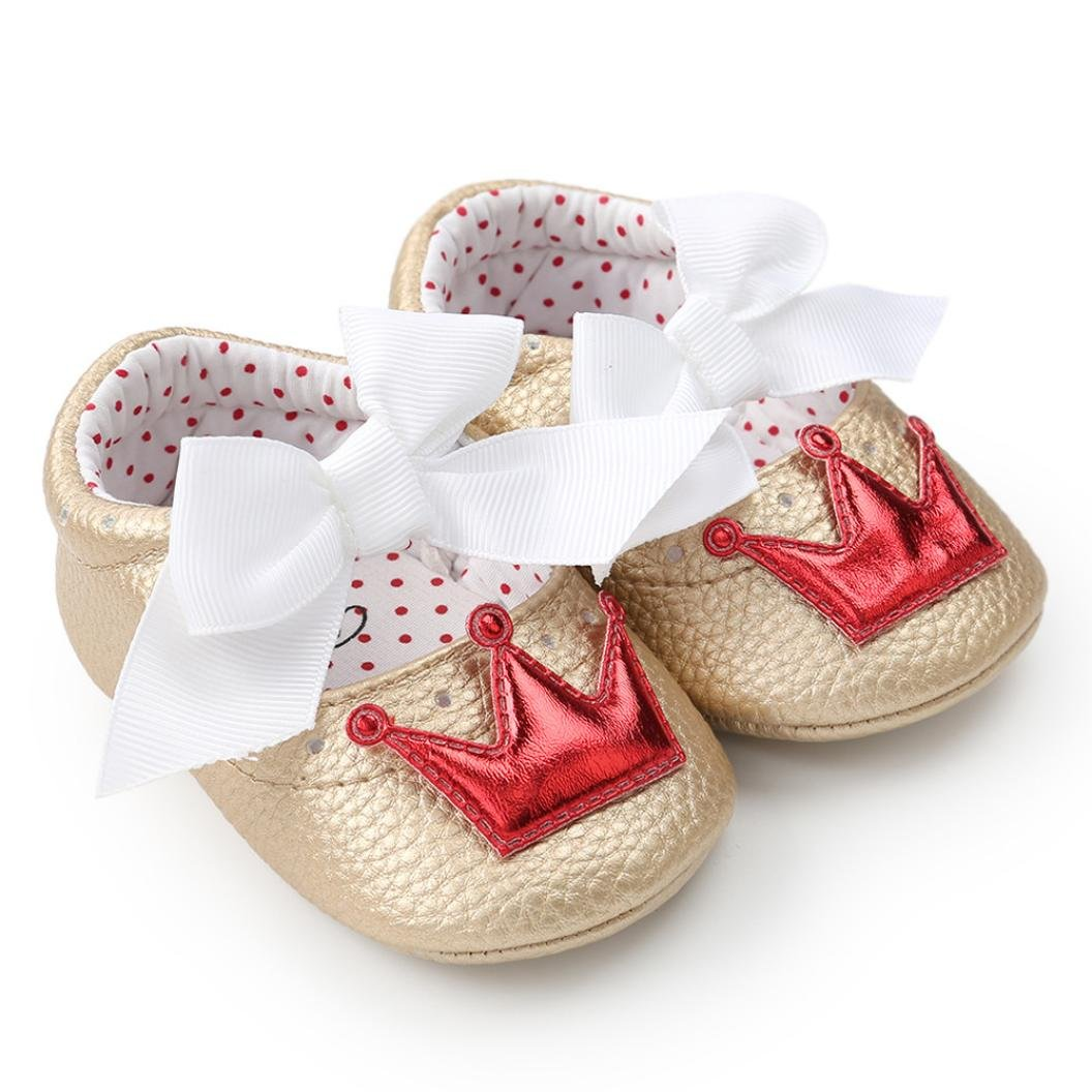 Baby Shoes HARRYSTORE Infant Toddler Baby Boy Girl Soft Princess Shoes Casual Anti-Slip Sneaker Sandals Newborn Walker Gifts Baby Girl Clothes 0-18 Months