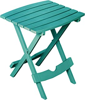 product image for Adams Manufacturing 8510-94-3902 Quik Fold Side Table, Teal