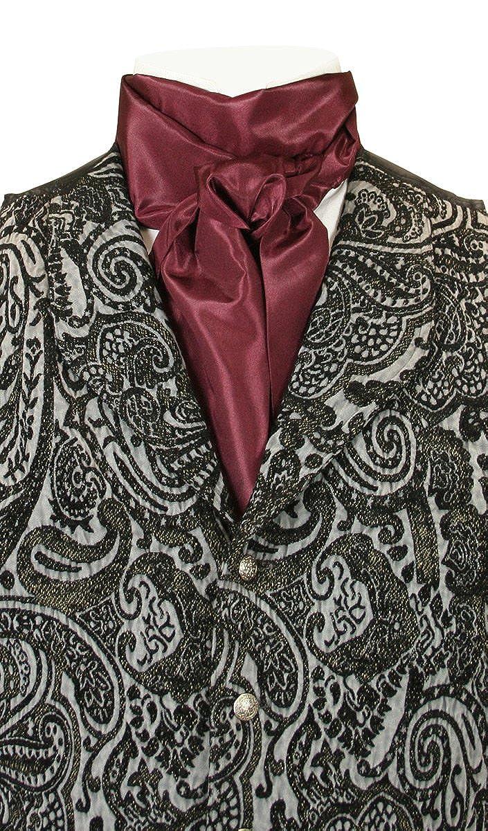 Historical Emporium Men's Satin Regal Cravat 006886