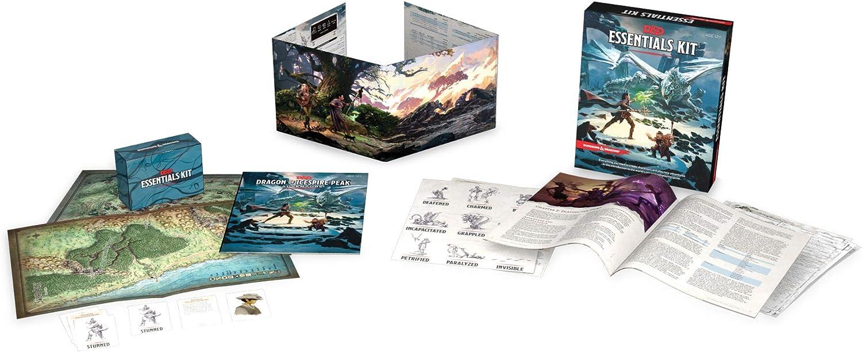 Dungeons & Dragons C70080000 Essentials Kit, Multi Juego de construcción: Amazon.es: Juguetes y juegos