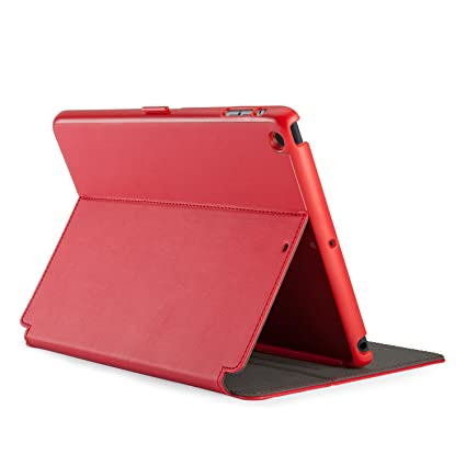 huge sale 0945e 508de Speck Products StyleFolio Case and Stand for iPad Air (5th Gen) - Dark  Poppy Red/Slate Grey