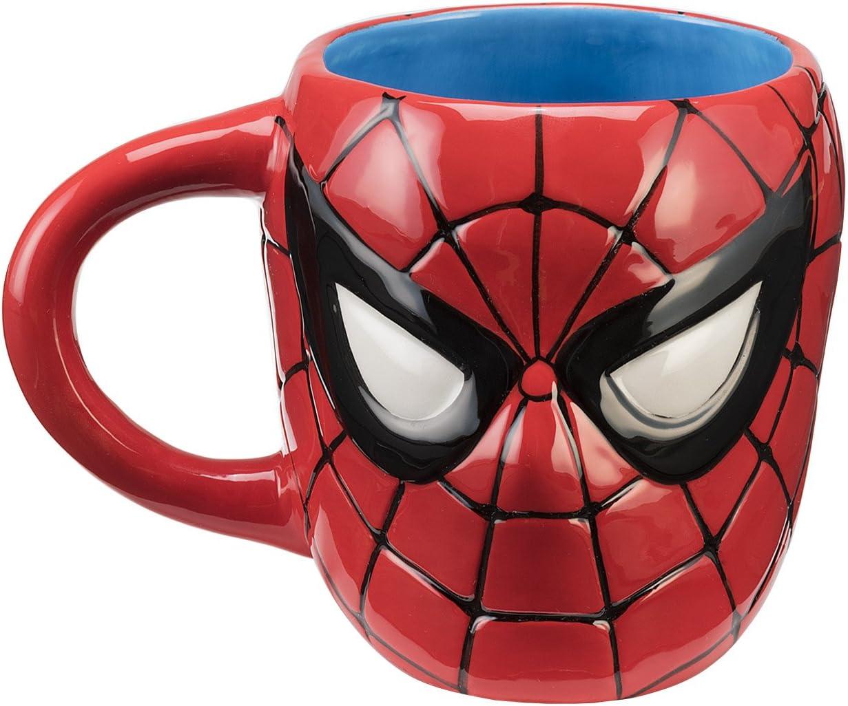Marvel Spider-Man Sculpted Ceramic Mug