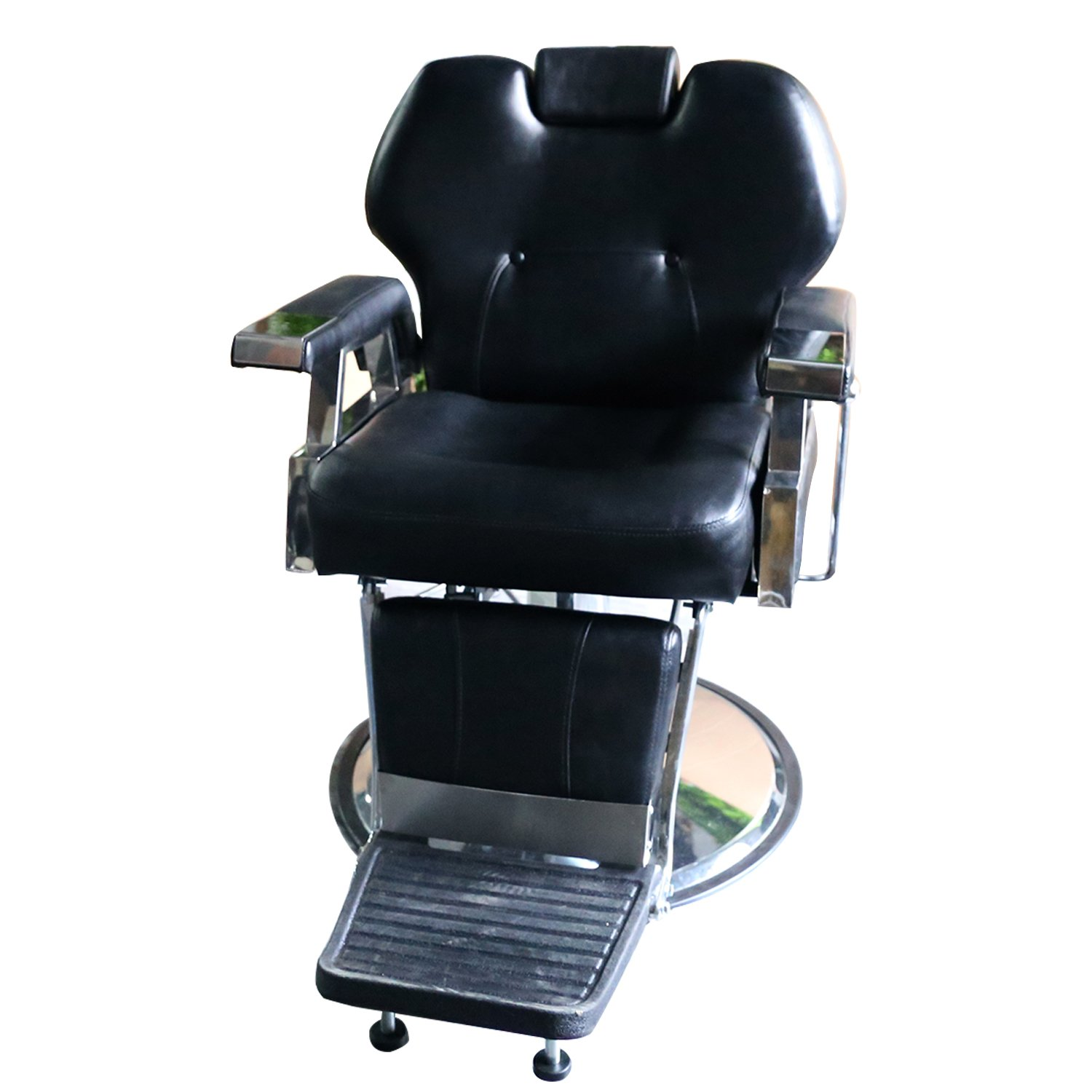 Wonlink All Purpose Hydraulic Recline Barber Chair Salon Beauty Spa Shampoo Hair Styling black