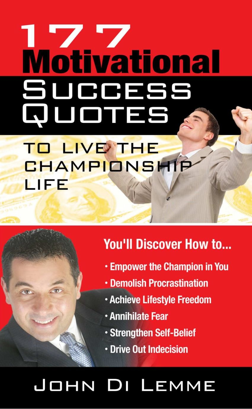 177 Motivational Success Quotes To Live The Championship Life pdf