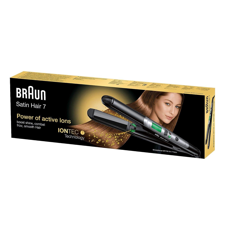 Plancha para el pelo Braun Satin Hair 7 con tecnología iónica por 28,20€ ¡¡72% de descuento!!