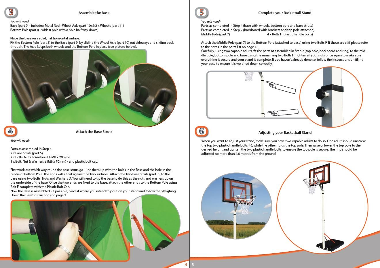 Bee Ball Compact Bb 04 Childrens Height Adjustable Outdoor Diagram Pictures 2 How To Draw A Basketball Hoop Step 4 Stand Reinforced Backboard 165 Meters 26 Sports