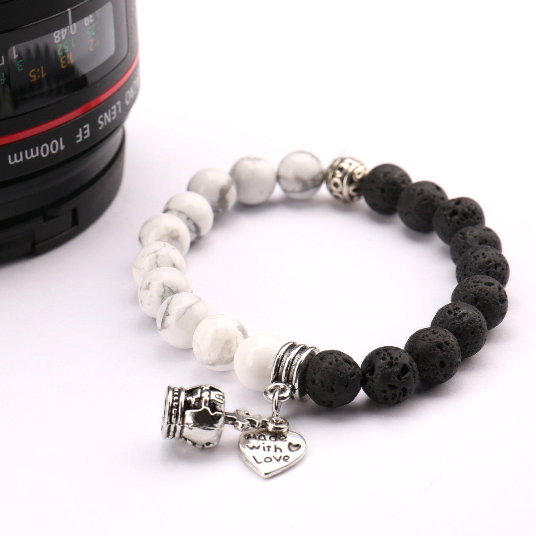 Beads Bracelet,UHIBROS Crown \