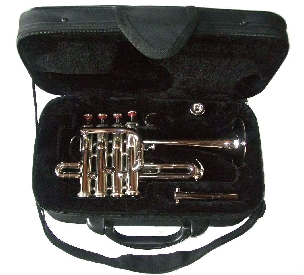 Classic Student-Grade Ultra Economy Bb/A PICCOLO TRUMPET with Hardcase and Mouthpiece