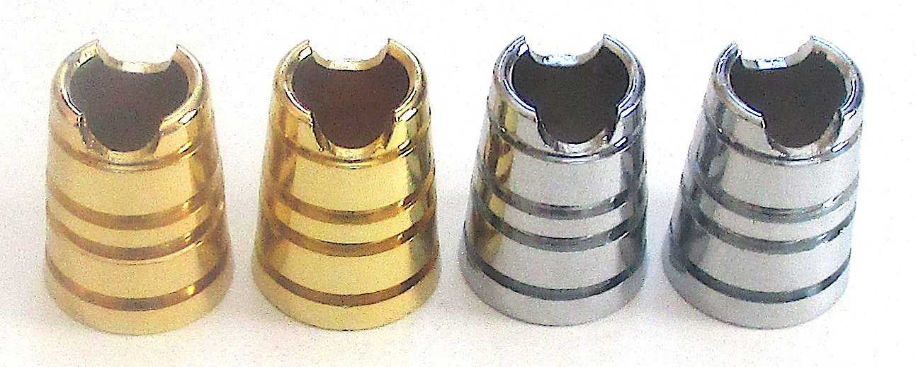 Lot of 4 Metal Series Cigarette Snuffers Instant Cigarette Extinguisher by Cigarette Case