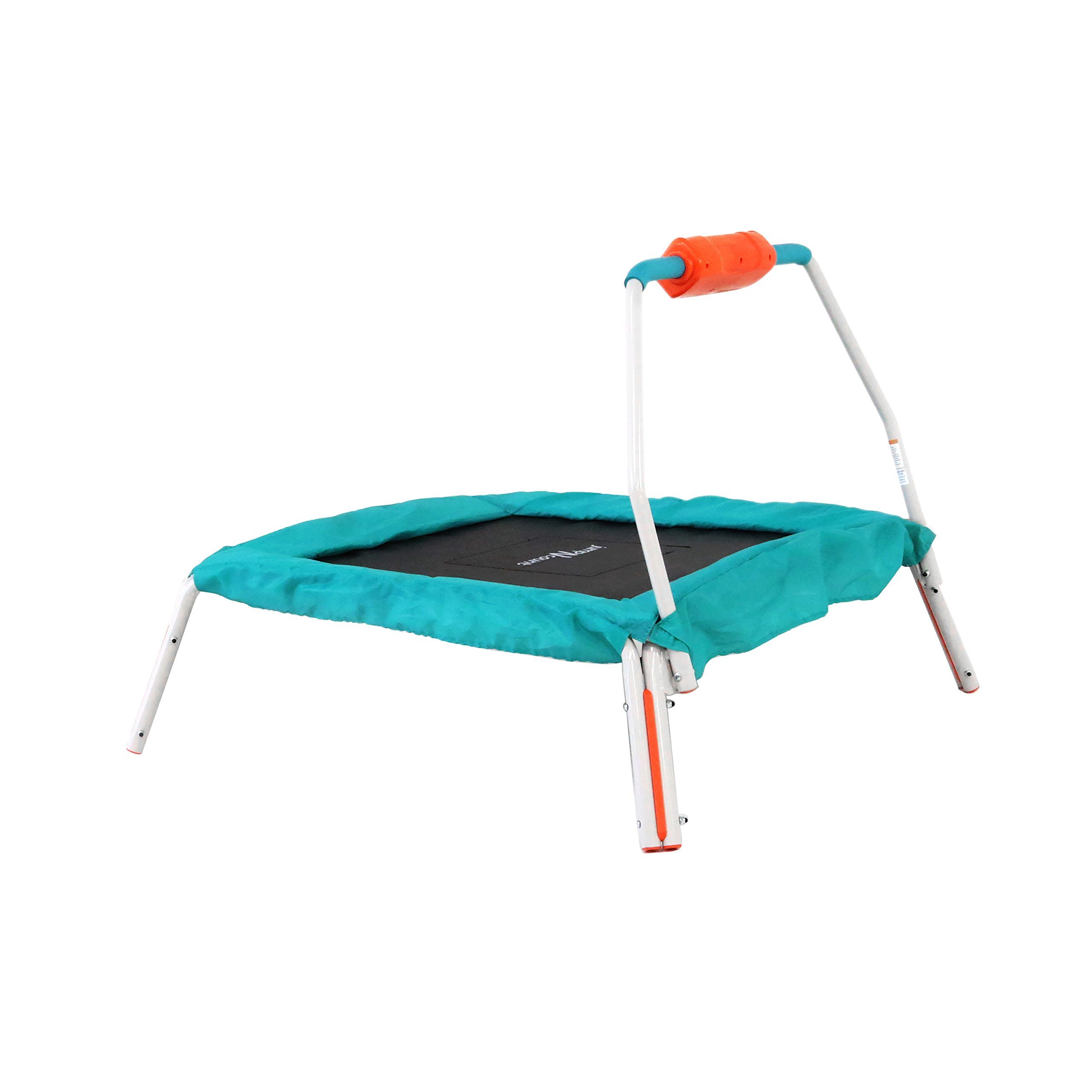 "Skywalker Trampolines 36"" Square Jump-N-Count Interactive Trampoline Mini Bouncer with Sound"
