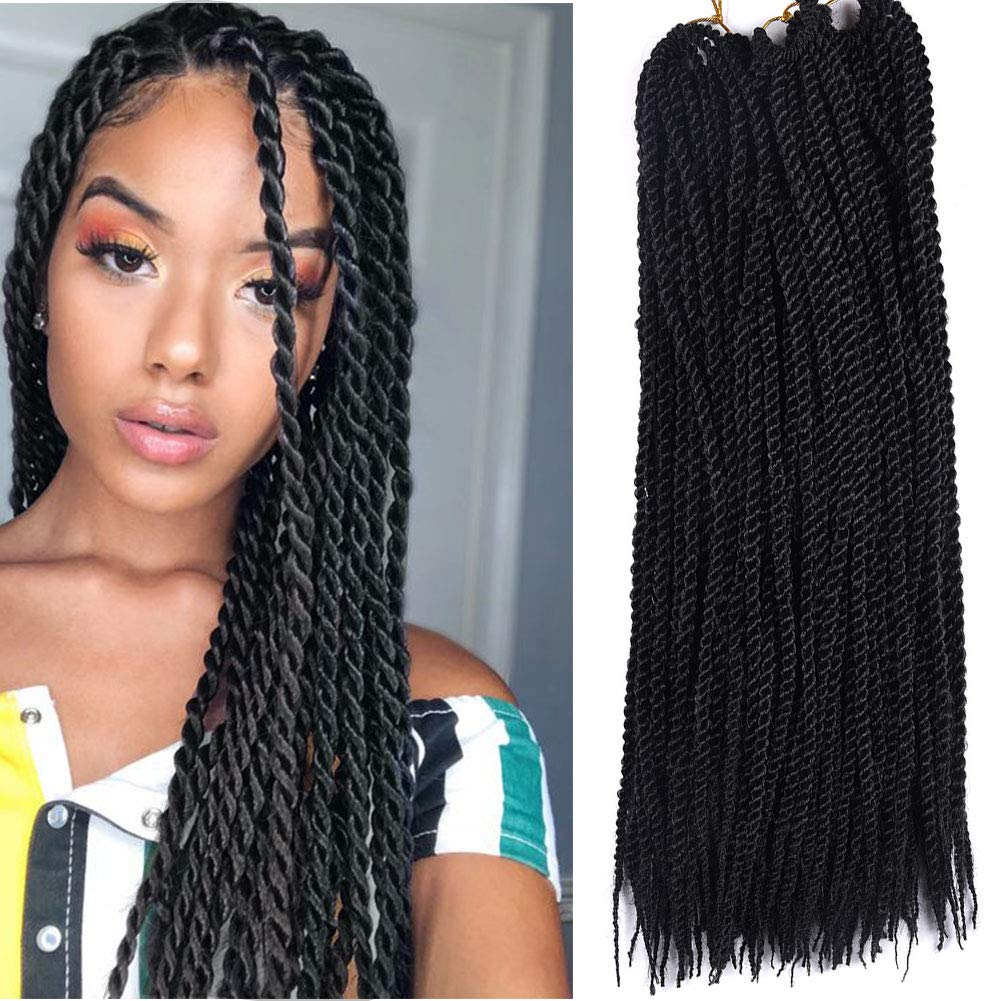 Amazon Com Senegalese Twist Hair Crochet Braids Hairstyles Braid
