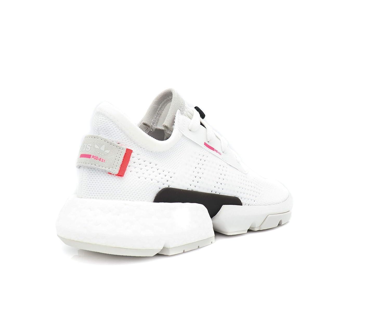 adidas Originals Men's POD S3.1 PK Footwear WhiteFootwear WhiteShock Red 10 D US