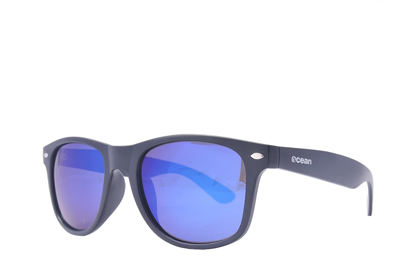 Ocean Sunglasses Beach wayfarer gafas de sol polarizadas Montura : Negro Mate