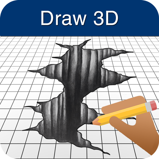 How to Draw 3D (Draw App)