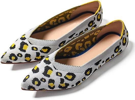 wechat store Women Flats Shoes Leopard