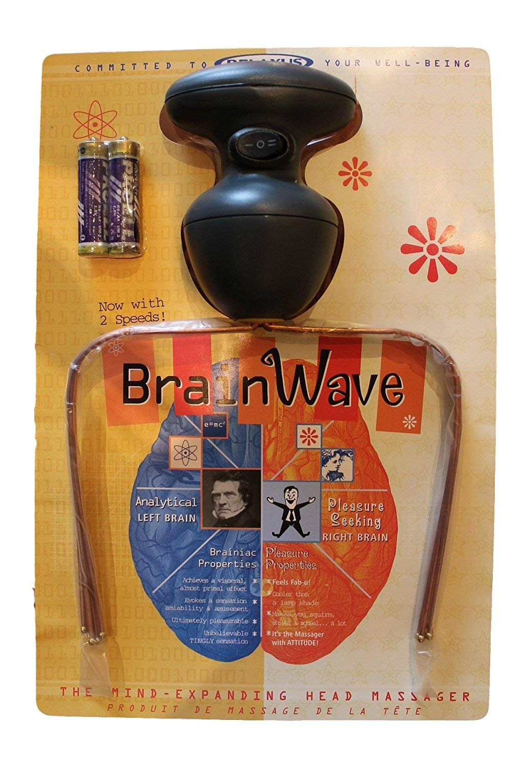 OFT, Ting Ting Vibrating Head Massager Copper