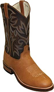 product image for Abilene Men's Two-Toned Cowhide Western Boot Round Toe - 6831