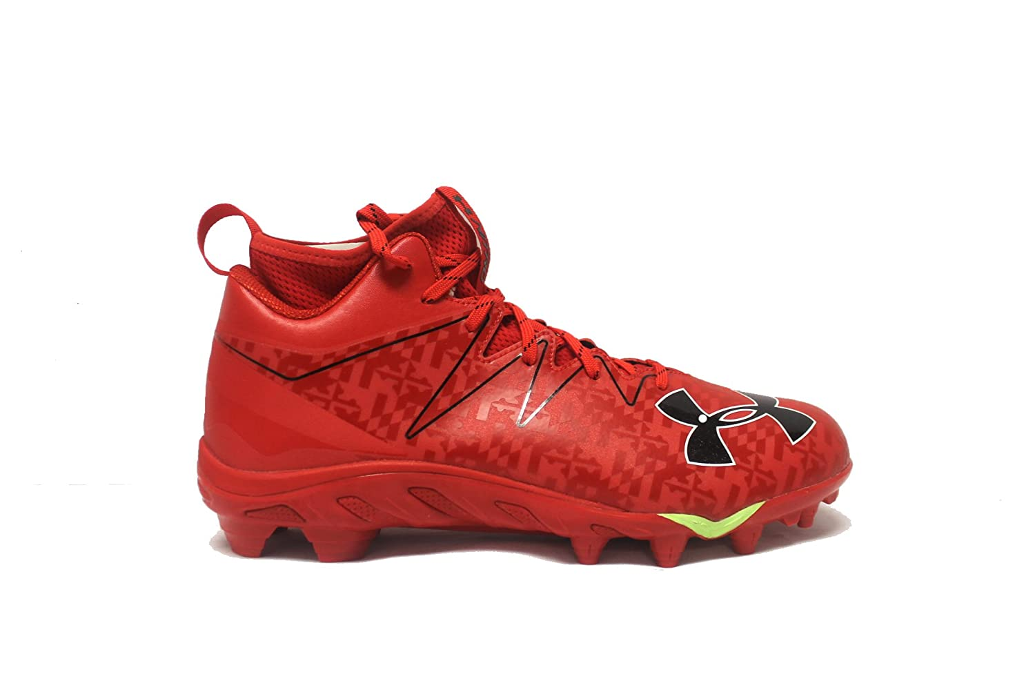 Under Armour メンズ B07DJS1DS2 10.5 D(M) US|Red/Red/Black Red/Red/Black 10.5 D(M) US