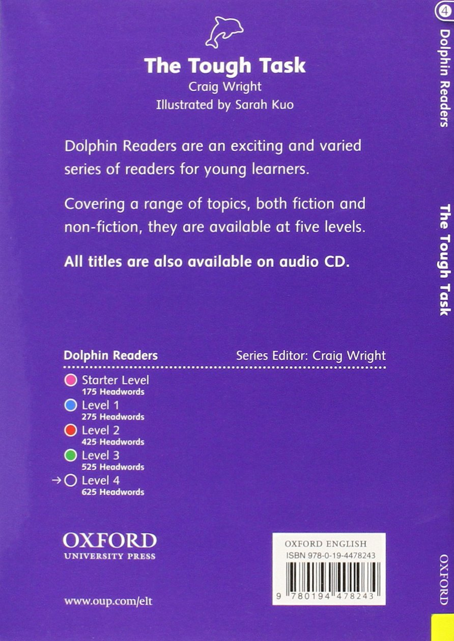 Buy dolphin readers level 4 the tough task book online at low buy dolphin readers level 4 the tough task book online at low prices in india dolphin readers level 4 the tough task reviews ratings amazon fandeluxe Images