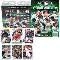 $54 » 2019 Topps MLB Baseball Sticker Master Kit (1 50 pk box & 1 album)