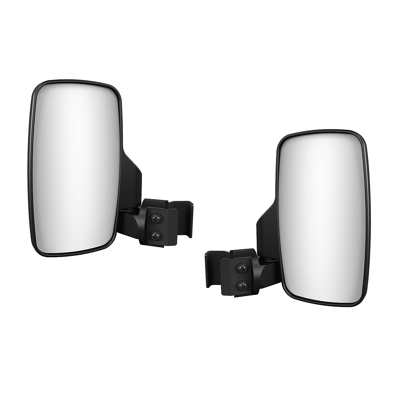 Kolpin 98330 Universal Quick Attach Vibration Dampening UTV Folding Side Mirrors