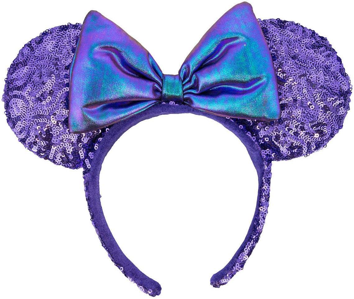 Disney Parks UP Minnie Mouse Ears Headband Grape Soda Up House New