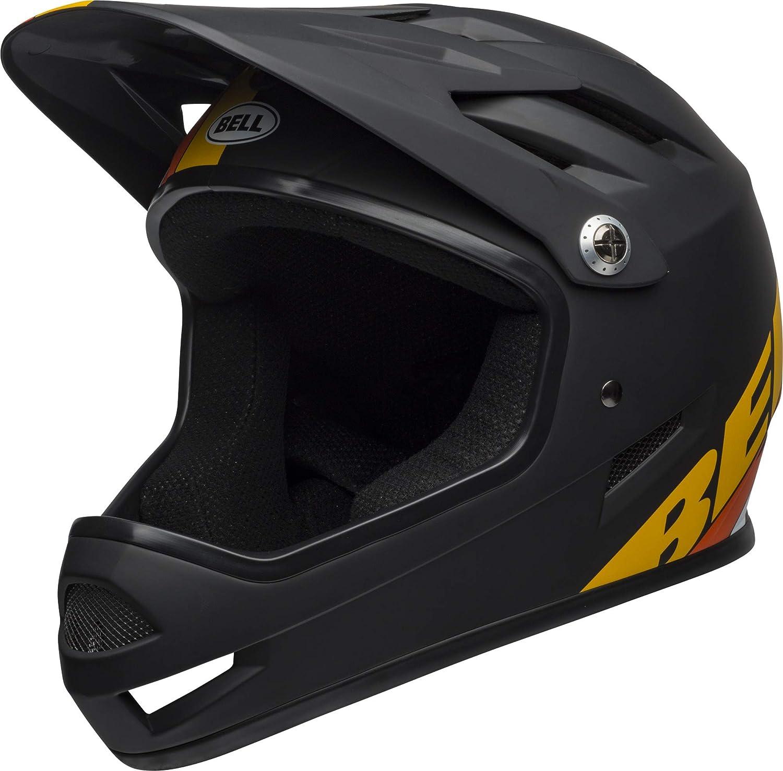 BELL Sanction DH Fahrrad Helm schwarz gelb Orange 2019