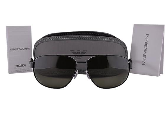 Amazon.com: Emporio Armani ea2036 Gafas de sol Negro w ...