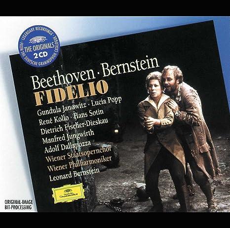 The Originals - Fidelio (Gesamtaufnahme) - Fischer-Dieskau, Sotin, Kollo,  Janowitz, Bernstein, Adolf Dallapozza, Ludwig Van Beethoven: Amazon.de:  Musik